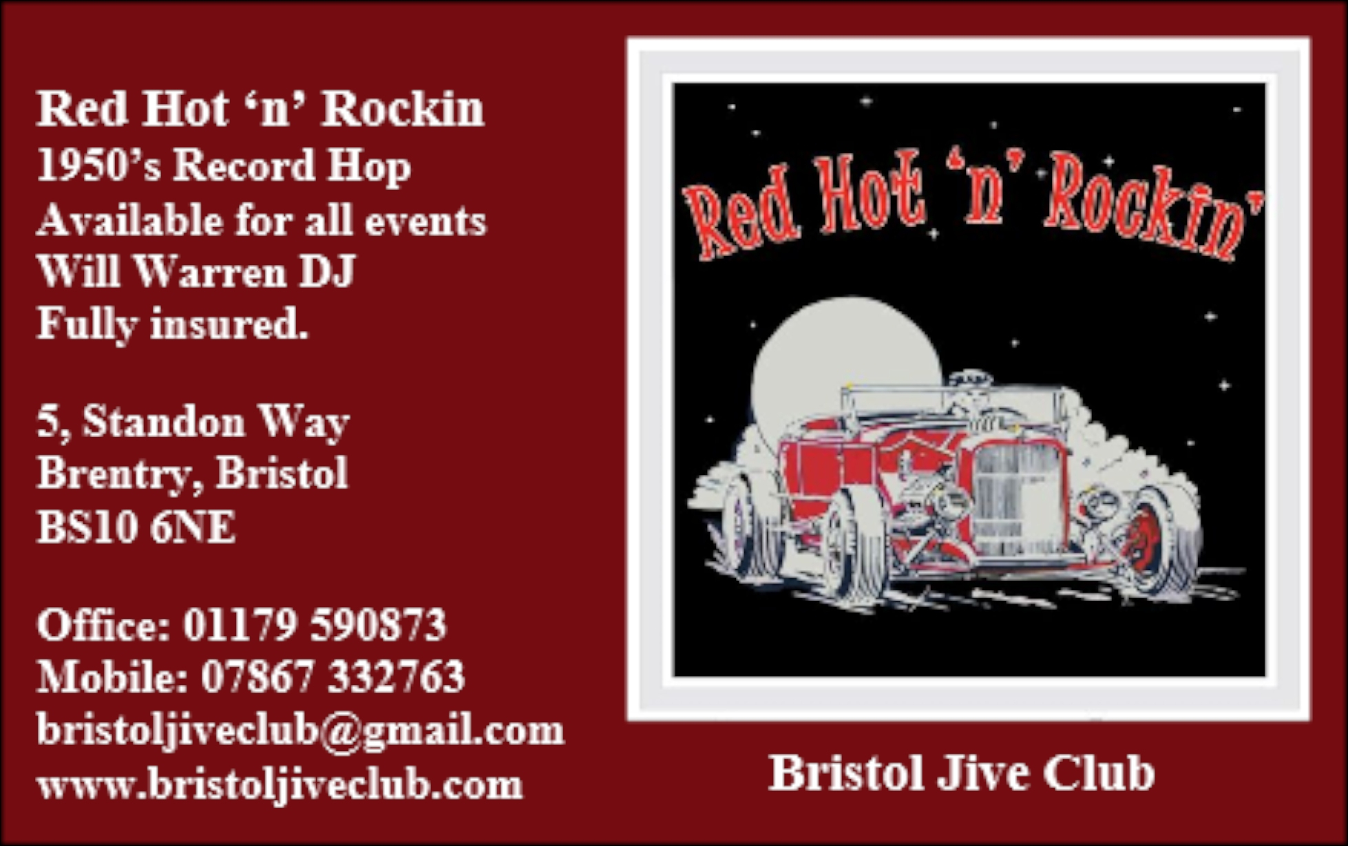 Red Hot Business Card